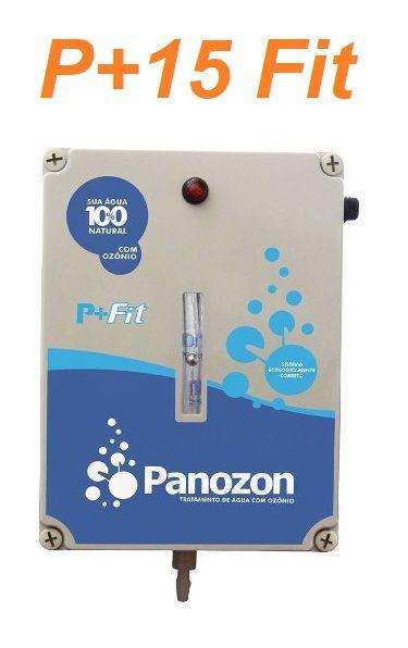 Tratamento com Ozônio Panozon P+15 Fit Piscinas 15.000 Litros