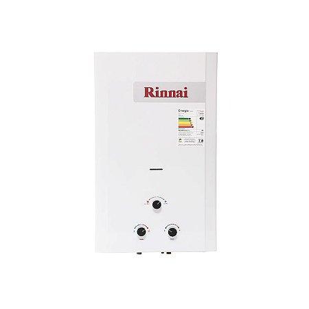 Aquecedor a Gás GLP 20 litros REU-M200 CFHB Rinnai