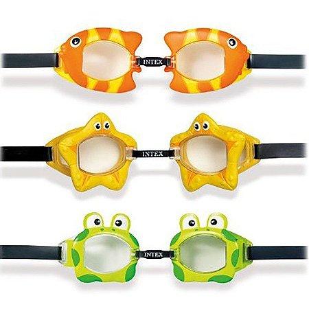 Óculos de Natação Bichinhos Animados Intex