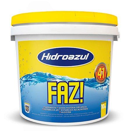 Cloro Para Piscina FAZ HidroAzul 10kg