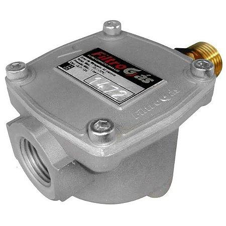 Filtro Para Aquecedor A Gás Glp Gn Compacto 1/2polegada