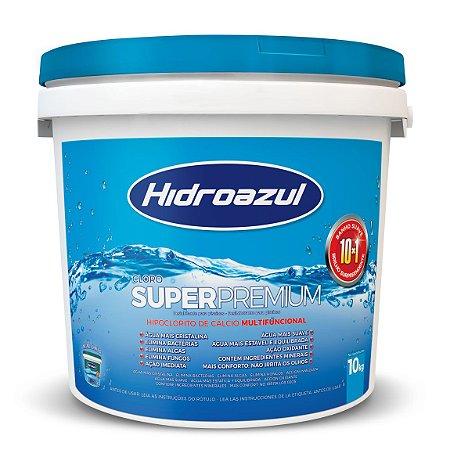 Cloro Para Piscina Super Premium HidroAzul 10kg