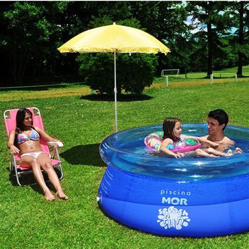 Piscina Inflável Splash Fun 1.400 litros MOR