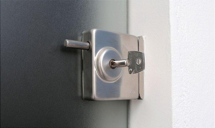 Fechadura Para Porta de Vidro x Alvenaria JBM FA2