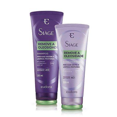 Kit Siàge Remove a Oleosidade Shampoo + Condicionador