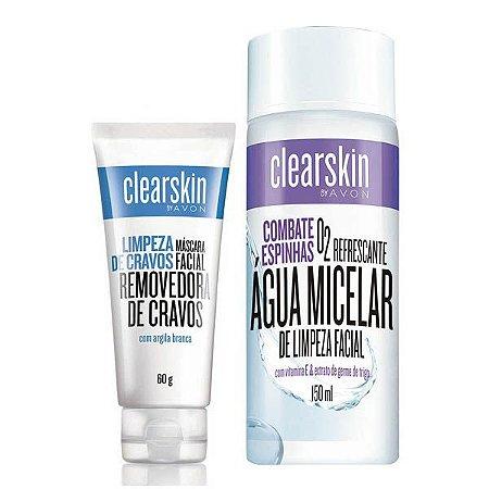 Kit Mascara de Cravos + Agua Micelar