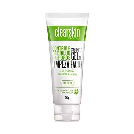 Avon Gel Facial De Limpeza Profunda Clear Skin 75g