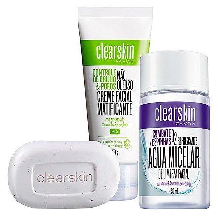 Cuidados Com A Pele - ClearSkin Acne Controla a oleosidade
