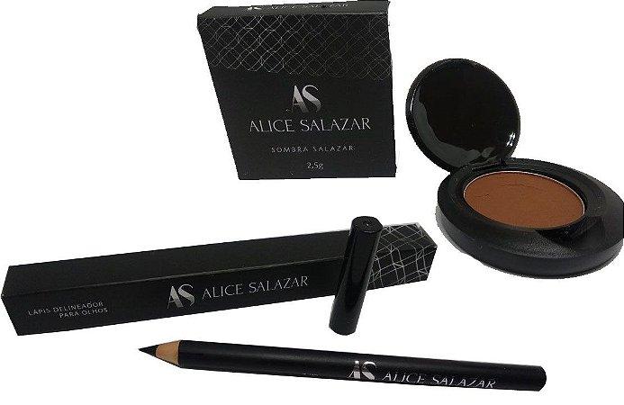 Kit Delineador e Sombra ALice Salazar