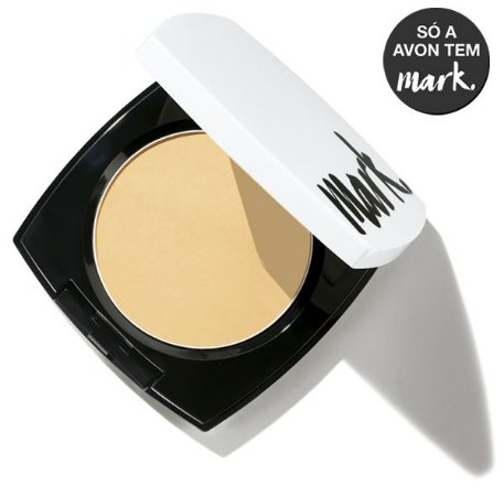 Mark. Pó Compacto Facial Nude Matte FPS 35 Bege Médio 11g