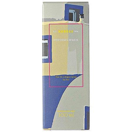 Mykonian Breeze Korres Eau de Cologne - Perfume Feminino 100