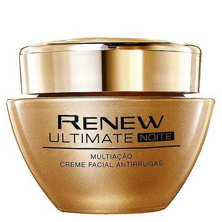 Creme Ultimate Multiação Noite Creme Facial Antirrugas 50 g