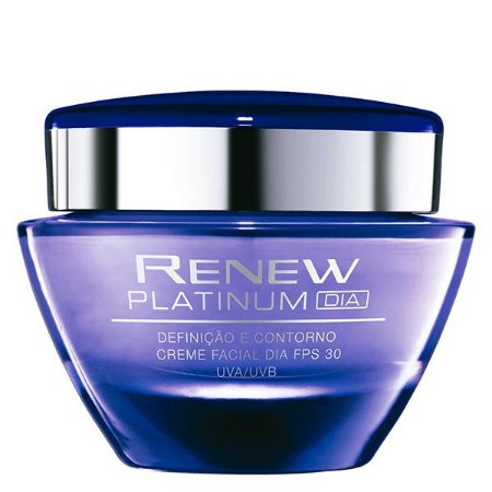 Renew anti idade Platinum Creme Facial Dia FPS 30 50 g