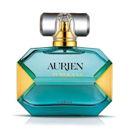 Perfume Feminino Aurien Turquesa Deo Colônia 100ml