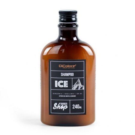 SHAMPOO masculino  ICE Gengibre e menta240ml