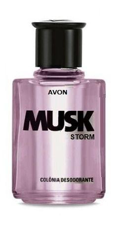 Musk Storm Colônia Desodorante 90ml