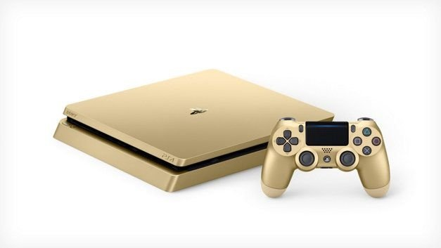 PS4 Dourado 1TB