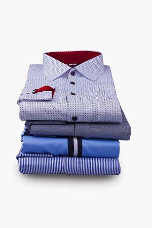Pacote Camisas 6 peças