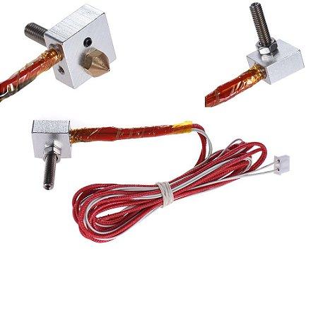 Kit de extrusão para Anet A2 / A8 / A6 / A3S / E10 / E12 (Hot End)