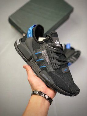 "Tênis Adidas NMD R1 ""Circuit Board"" Masculino Azul"