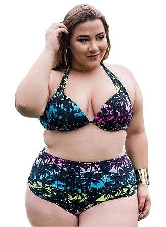 Biquíni Hot Pants Extra GG - Top Com Bojo