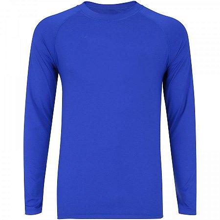 Camisa Masculina Proteção UV Manga Longa