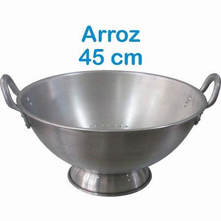 Escorredor de Arroz de Alumínio Linha Hotel 45 cm