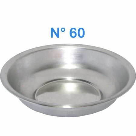 Bacia de Alumínio N° 60 Simples 18 Litros