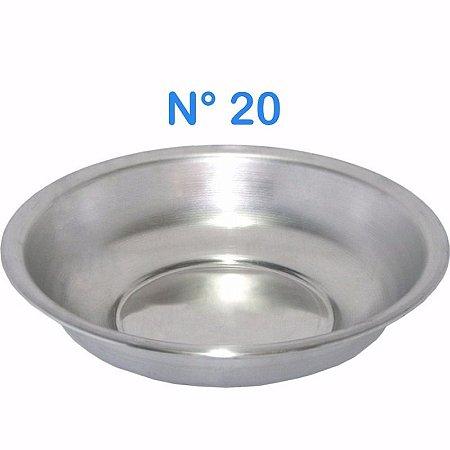 Bacia de Alumínio N° 20 Simples 850 ml