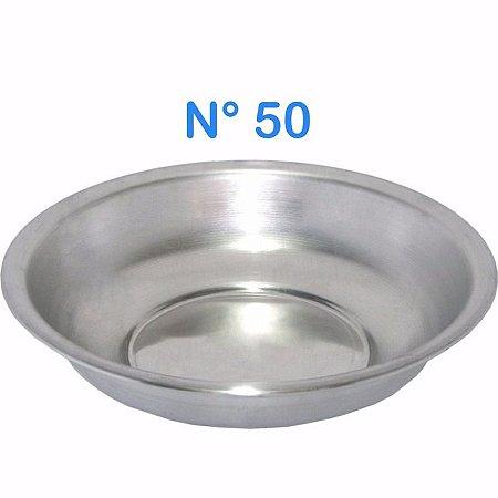 Bacia de Alumínio N° 50 Simples 12,5 Litros