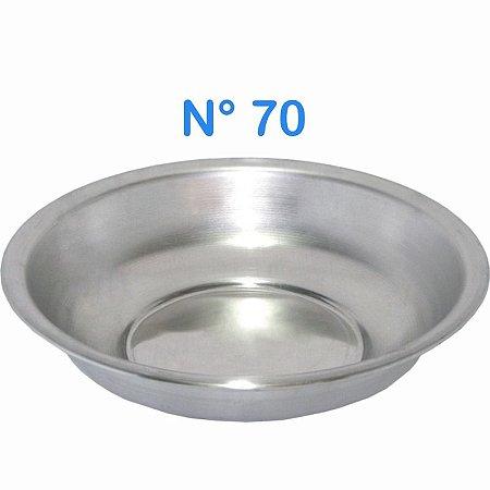 Bacia de Alumínio N° 70 Simples 21,5 Litros