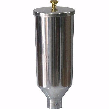 Copo em Alumínio para Doceiras de Churros 2 Litros