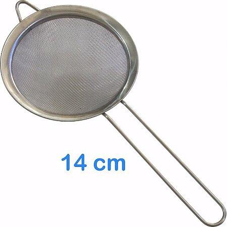 Peneira em Inox 14cm para Sucos