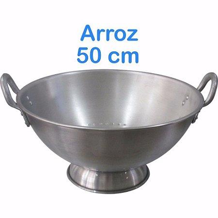 Escorredor de Arroz de Alumínio Linha Hotel 50cm