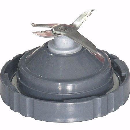 Acoplamento para Copo de Liquidificador Walita RI 2044/2054 Cinza