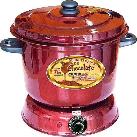 Derretedeira Elétrica Banho Maria 7kg De Chocolate
