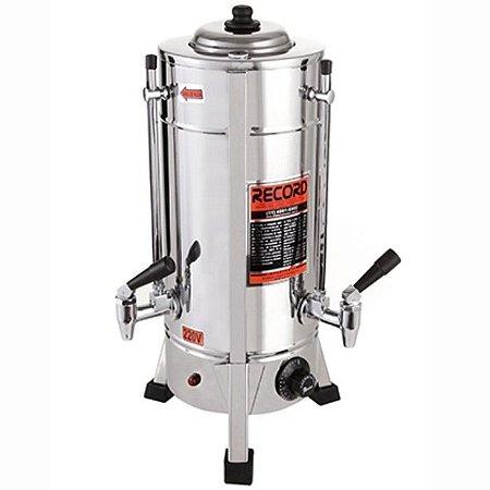 Maquina De Café Cafeteira Elétrica Comercial Inox 2 Litros