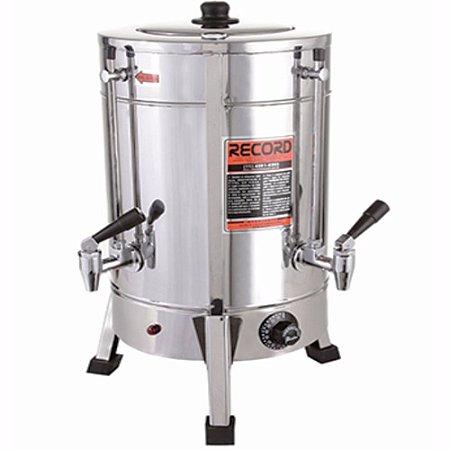 Maquina De Café Cafeteira Elétrica Comercial Em Inox 6 litros