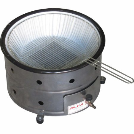 Fritadeira Tacho 3 litros e Cesto a Gás Modelo de Mesa