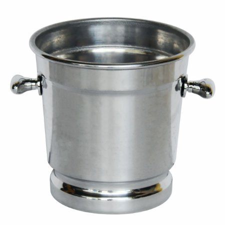 Balde Alumínio Polido Para Concha De Sorvete E Açai