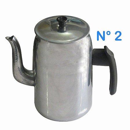 Bule de Alumínio N° 2 1 Litro