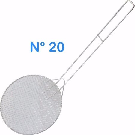 Escumadeira Telada N° 20 Para Pasteis E Frituras