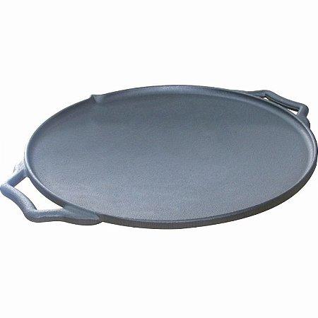 Disco Chapa Bifeteira Redonda De Ferro Fundido 44,5cm