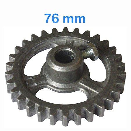 Engrenagem para Maquina de Assar Frango 76mm 30 Dentes