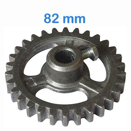 Engrenagem para Maquina de Assar Frango 82mm 30 Dentes