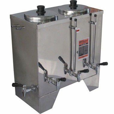 Maquina Café e Leite Cafeteira Comercial Industrial 10 Litros Inox