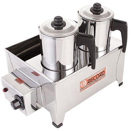 Esterilizador de Bules para 2 Bules Café leite, padaria comercios