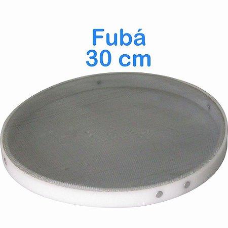 Peneira de Fubá 30cm com Bordas em Polietileno