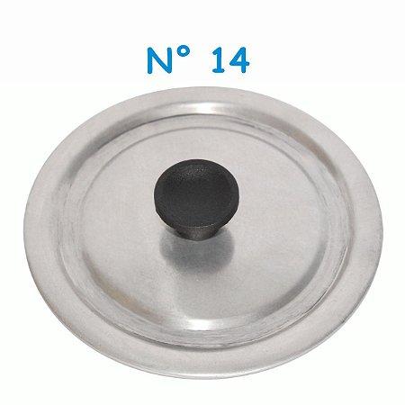 Tampa Avulsa N° 14 de Alumínio com Pomel
