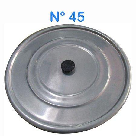Tampa Avulsa N° 45 de Alumínio com Pomel